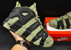 Nike Air More Uptempo хаки